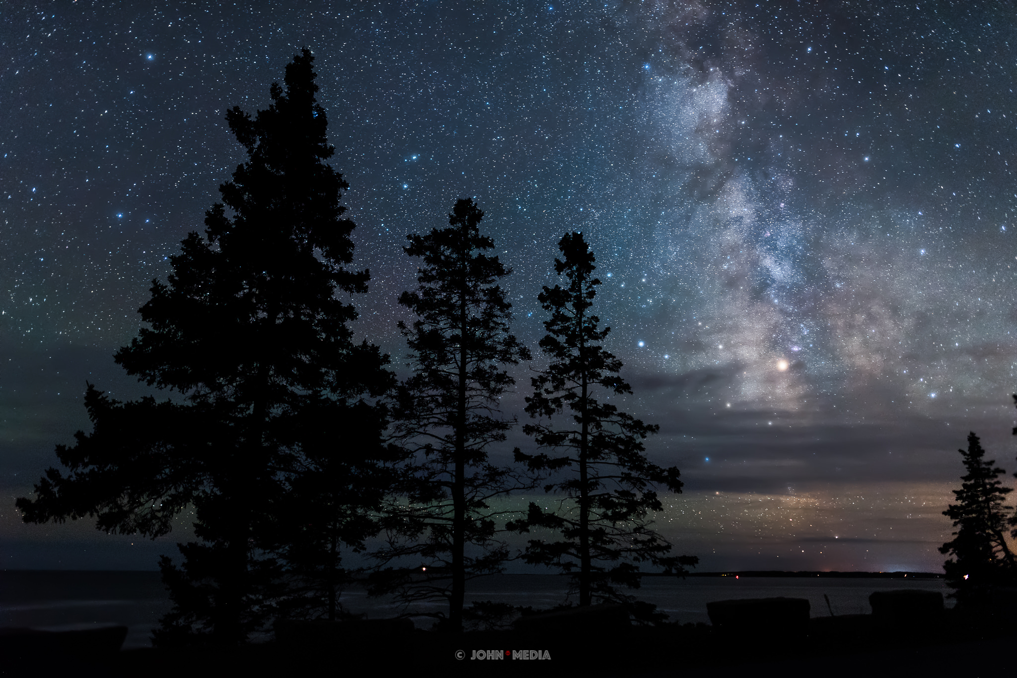West Point Acadia Milky Way