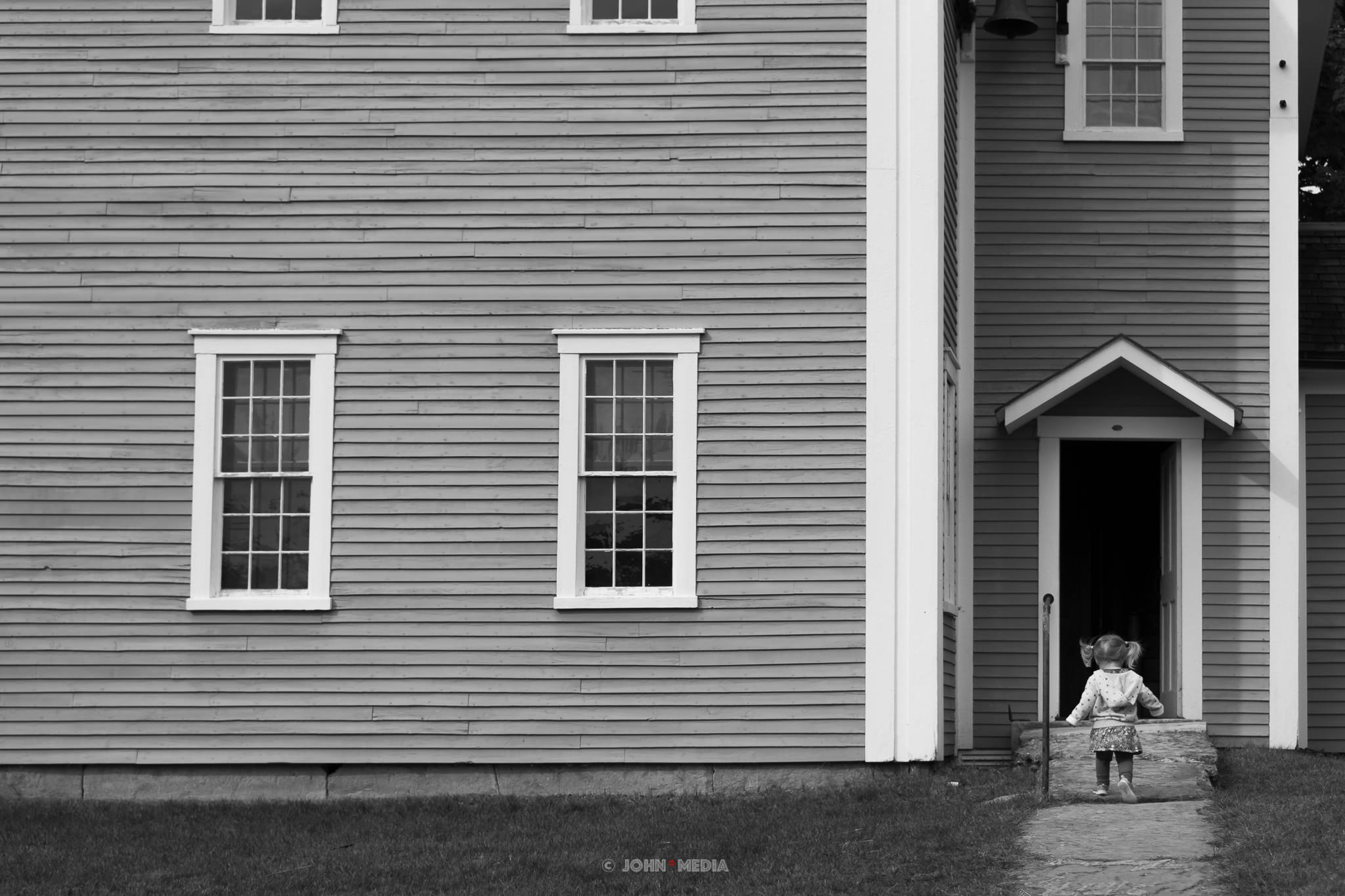 Canterbury Shaker Village first day at school