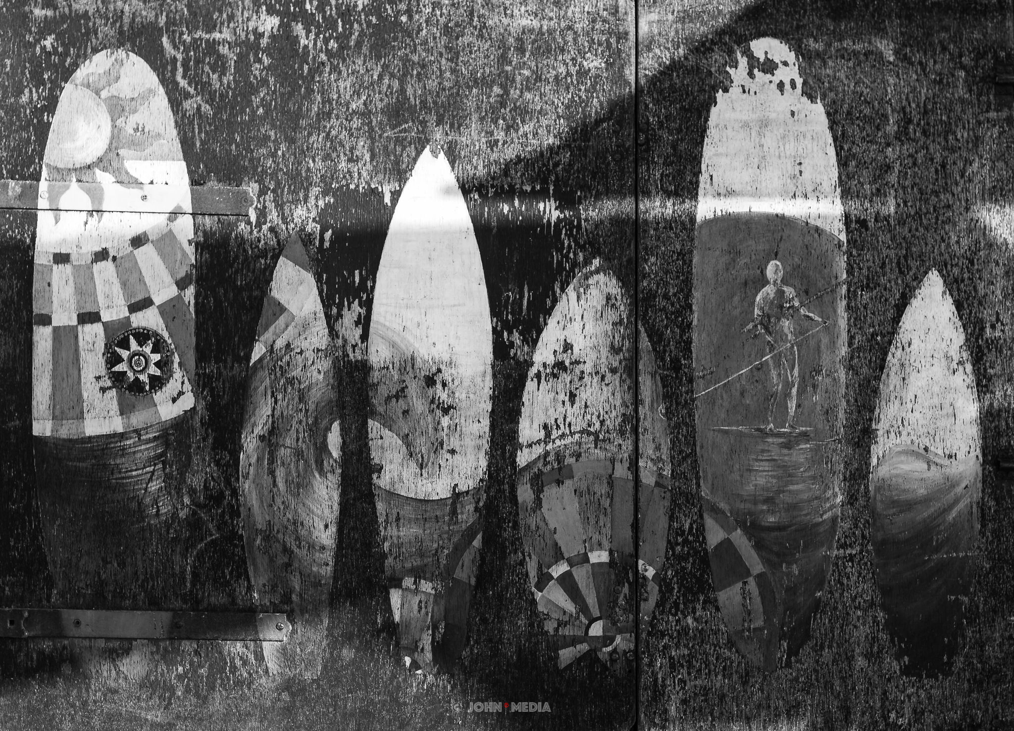 Brighton photography - surfboards