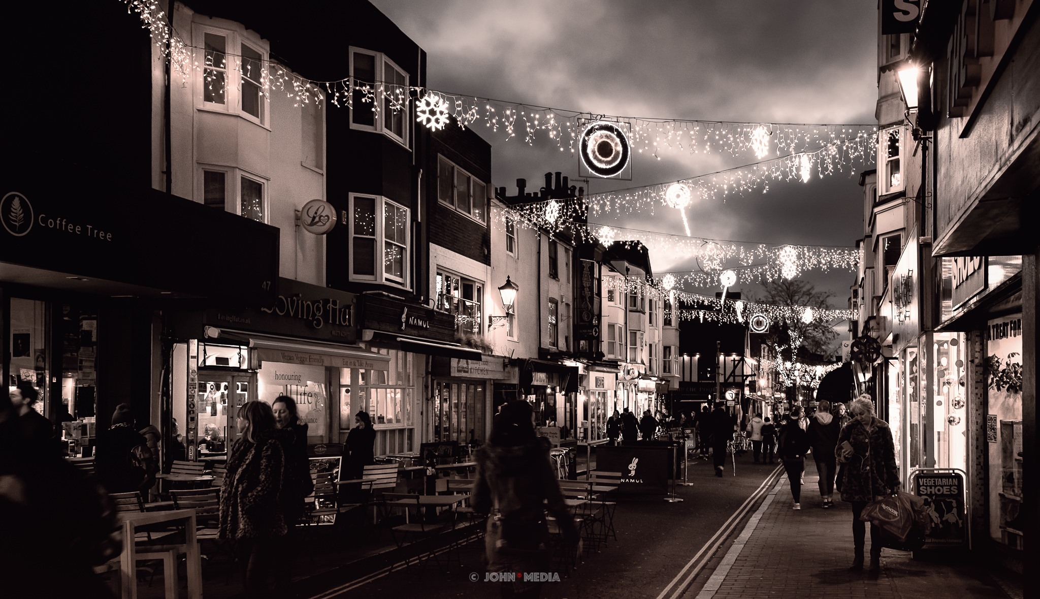 Brighton Laines at Christmas