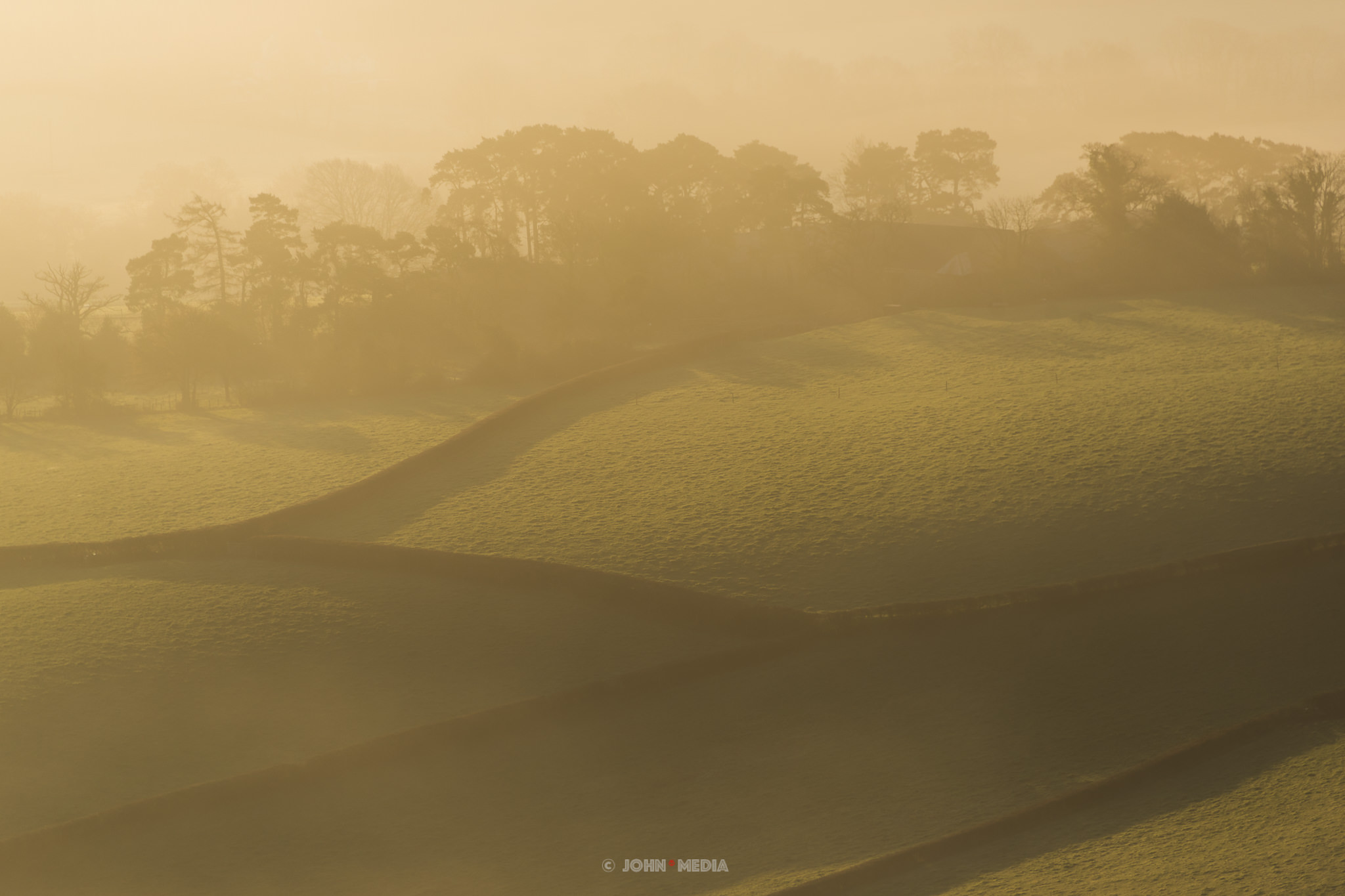 Brecon Beacons morning glow