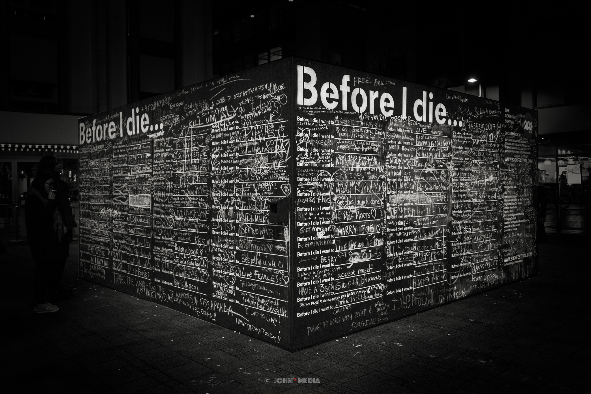 Before I Die in Brighton