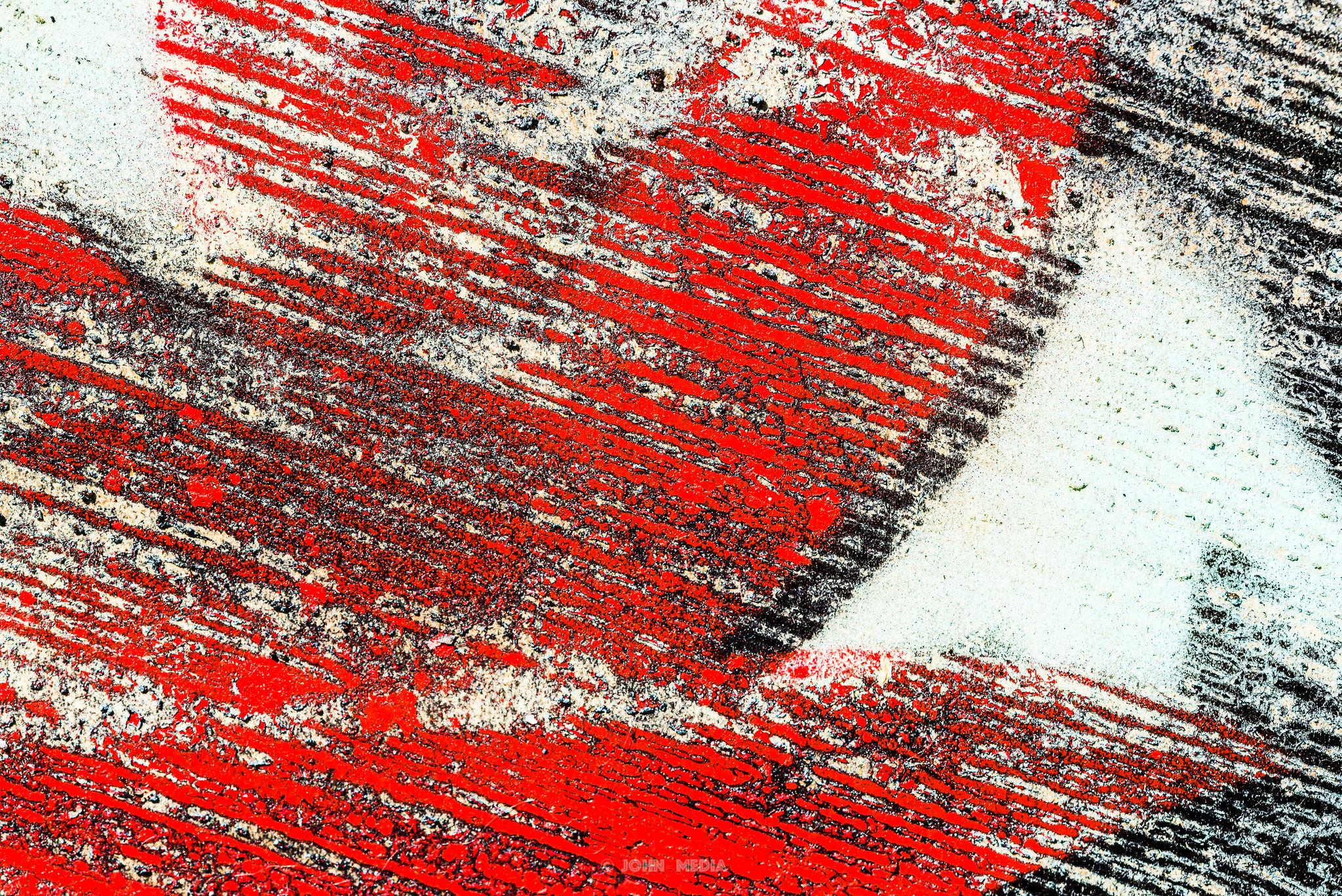 Macro Brighton - Red flower