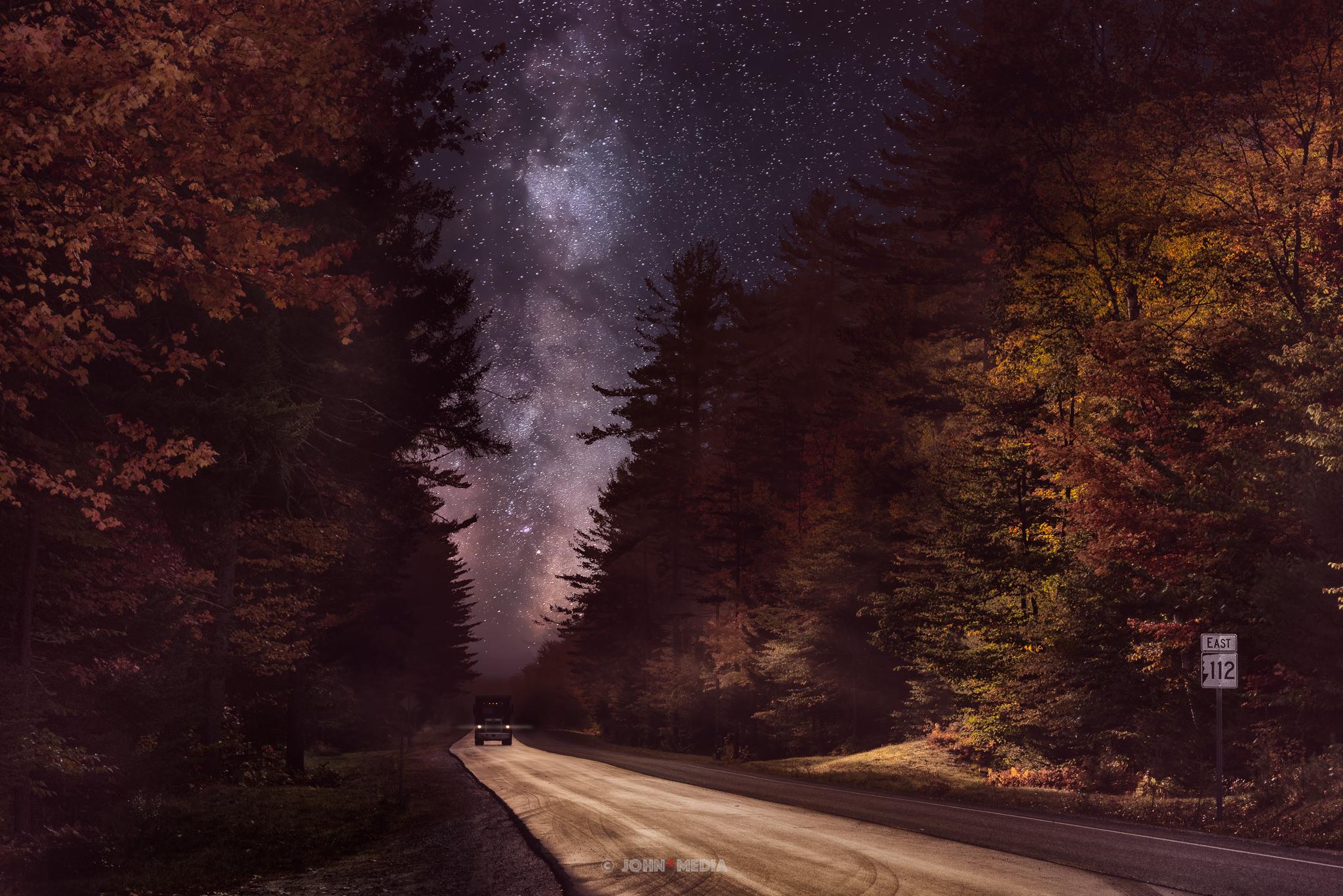 Kancamagus Milky Way