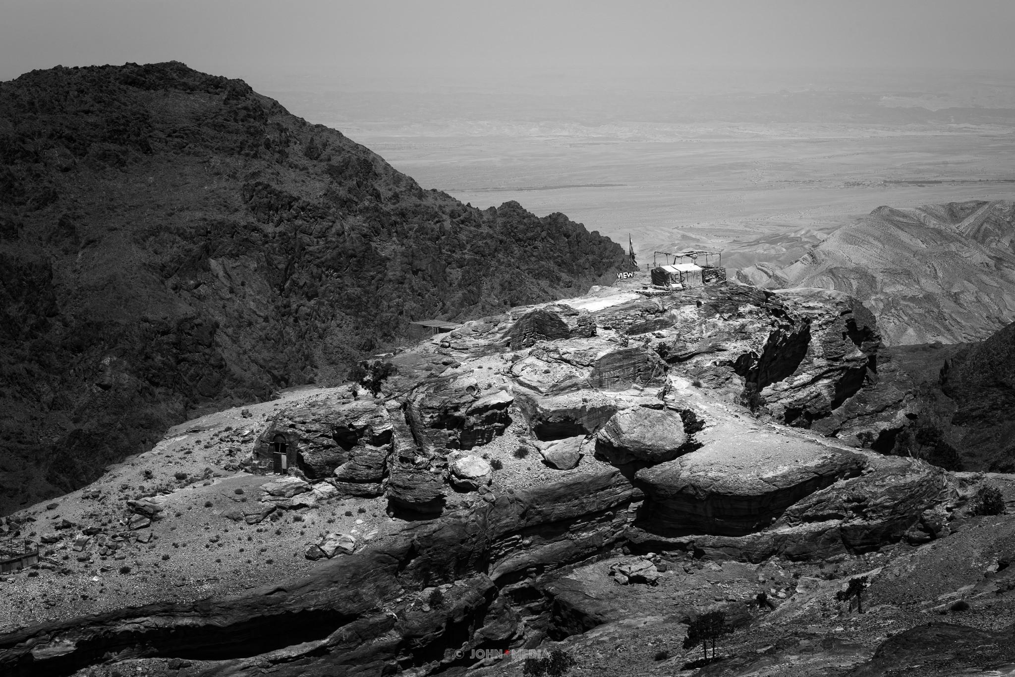 Petra desert view