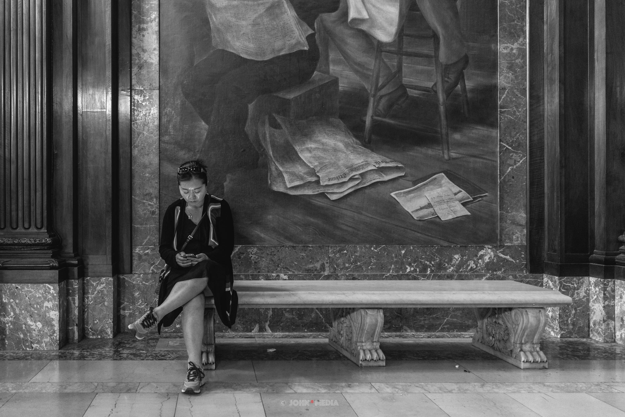 New York Public Library reading