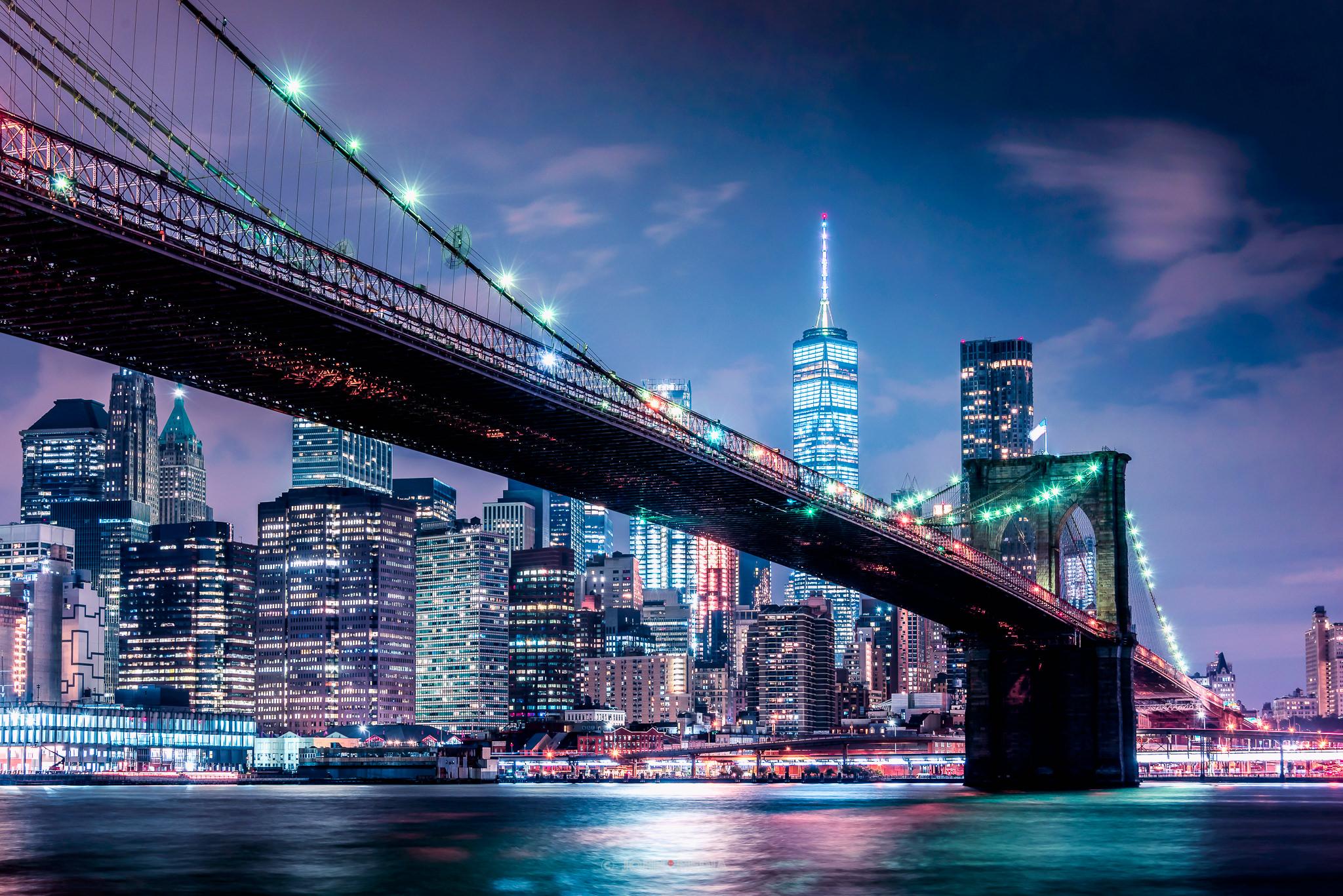 Brooklyn Bridge and the blues