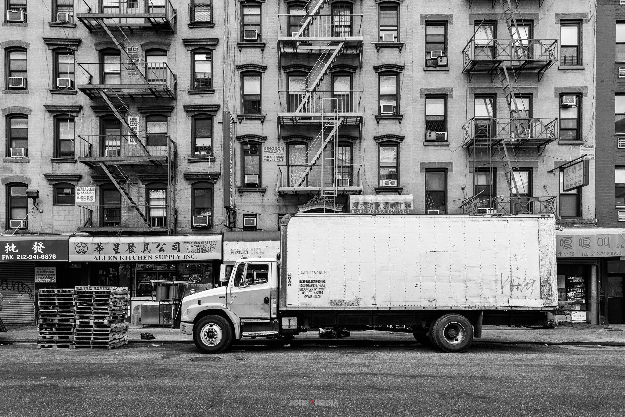 Manhattan Chinatown delivery