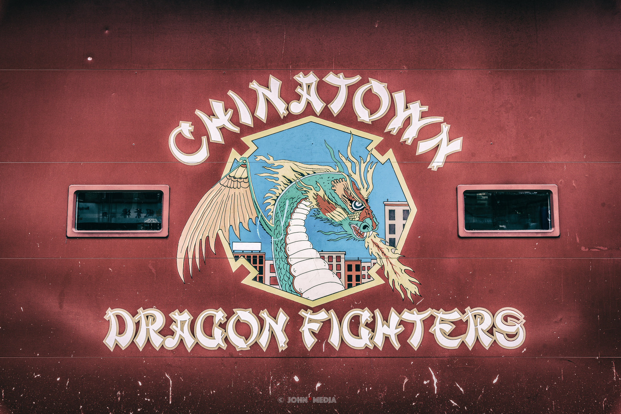 New York Chinatown Dragon Fighters