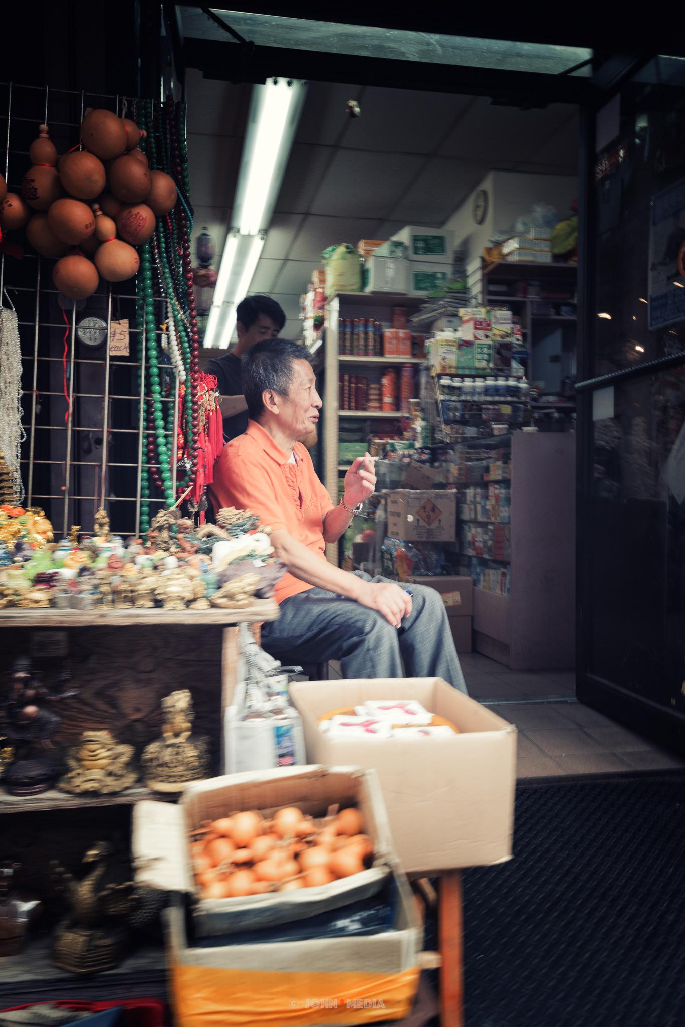 Chinatown daytime stall