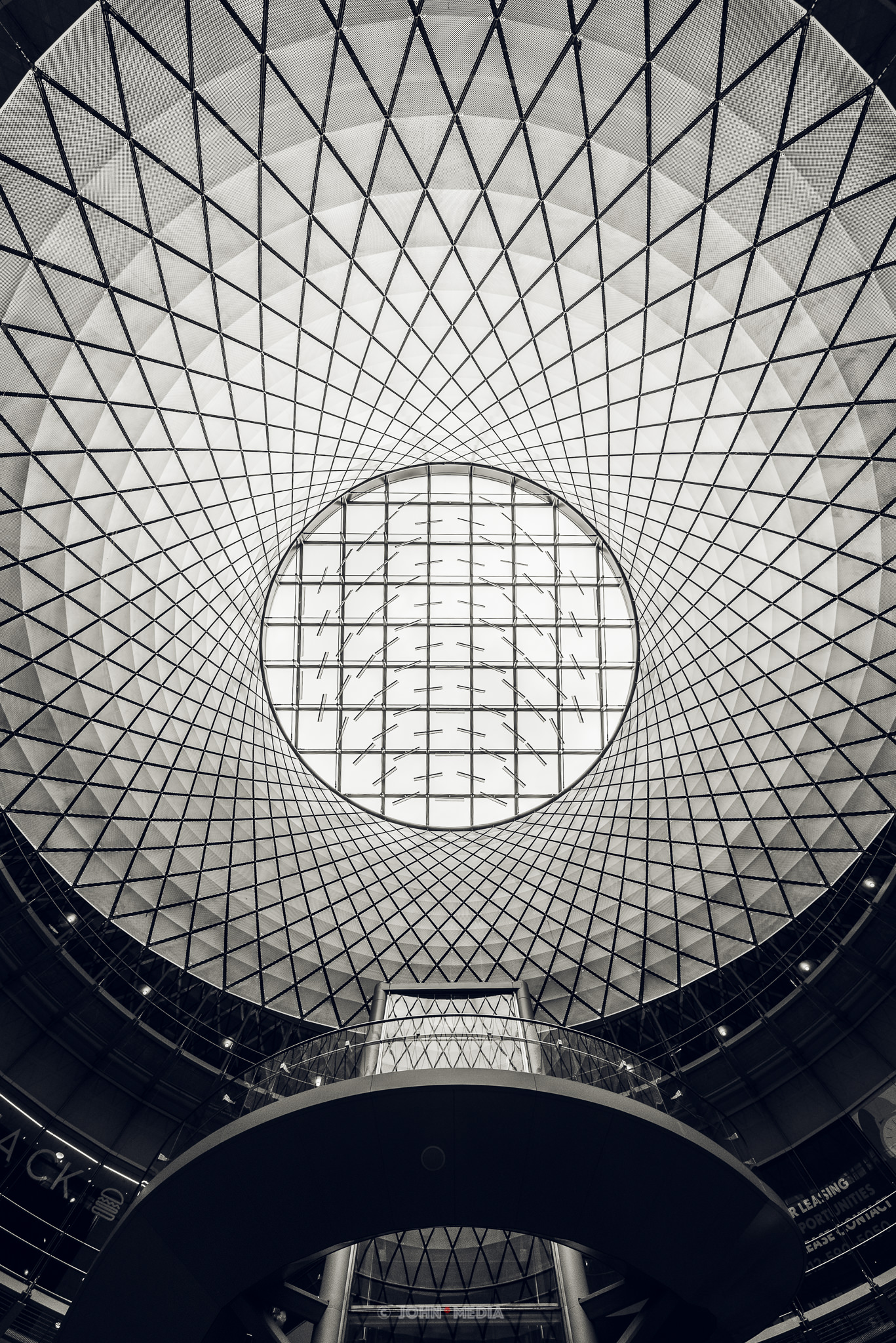 Fulton Centre looking up