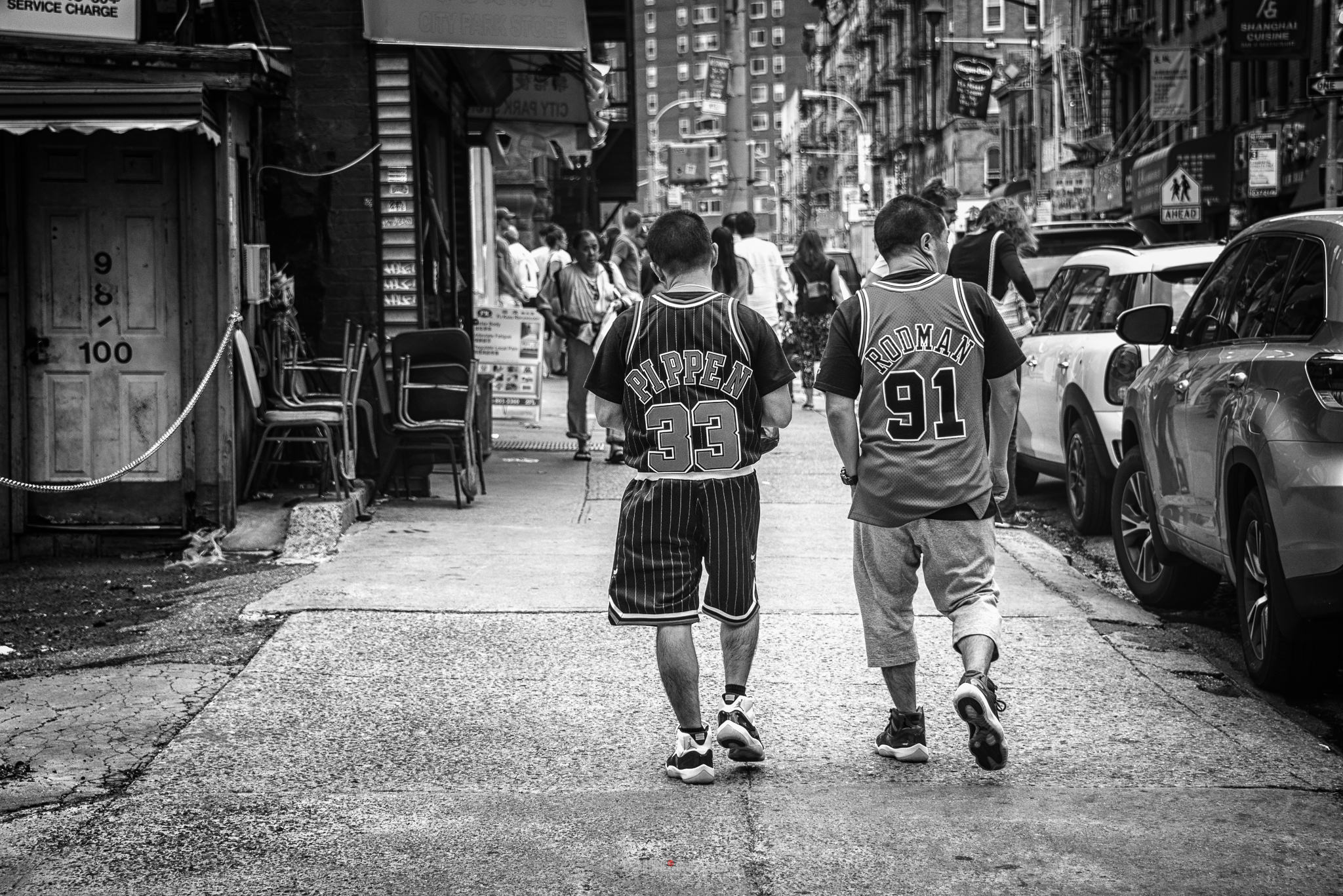Pippen and Rodman