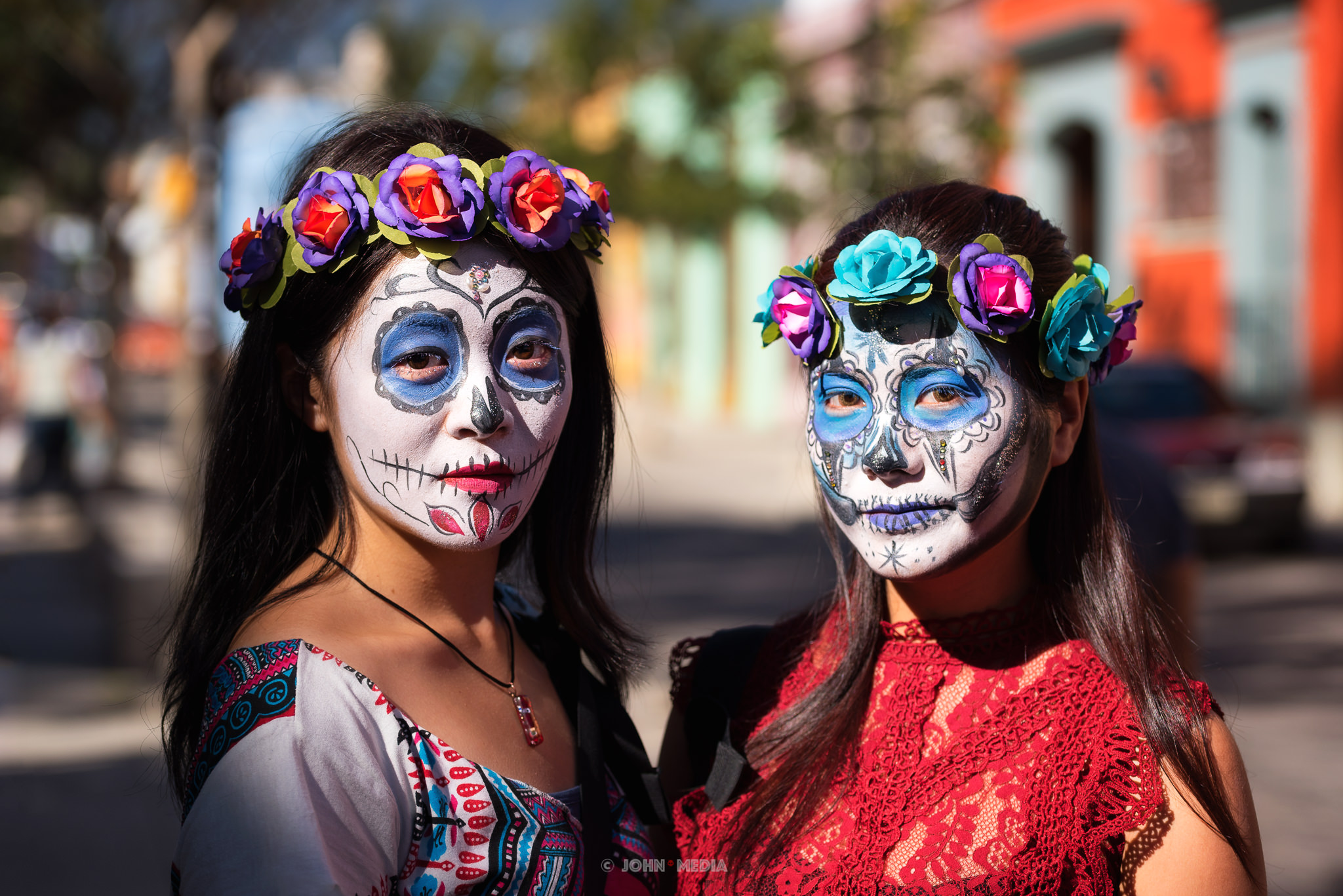 Oaxaca Dia de Muertos Primary Eyes