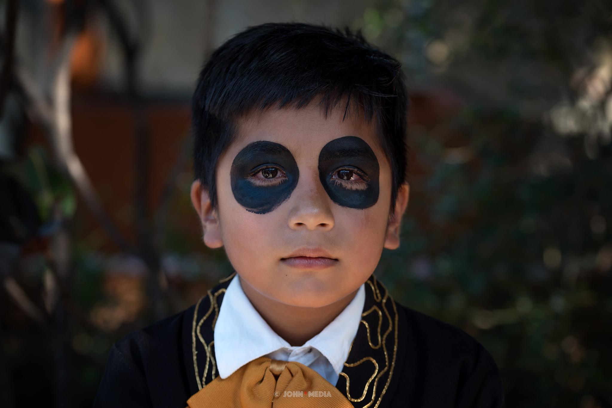 Oaxaca Dia de Muertos Eyes of Black
