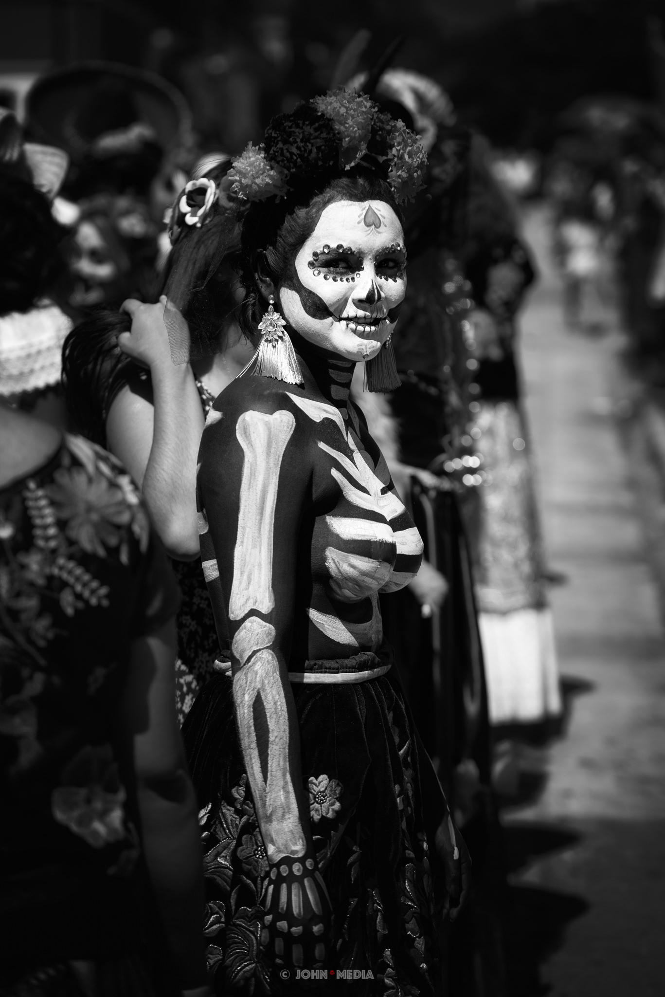 Oaxaca Dia de Muertos Comparsa