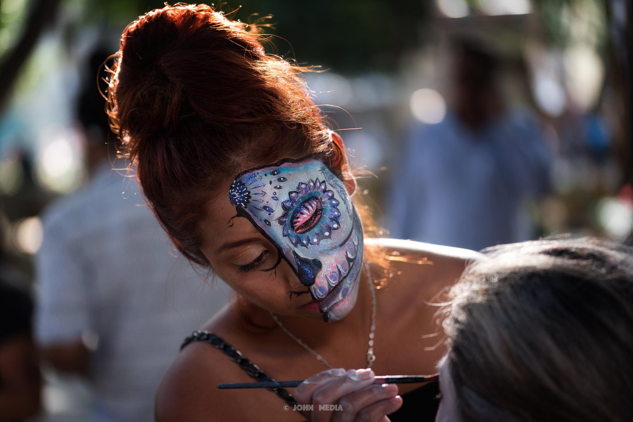 Oaxaca Dia de Muertos Make Up Artist