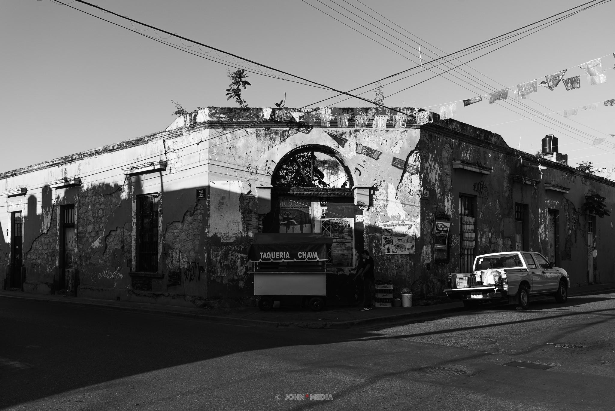 Oaxaca street corner