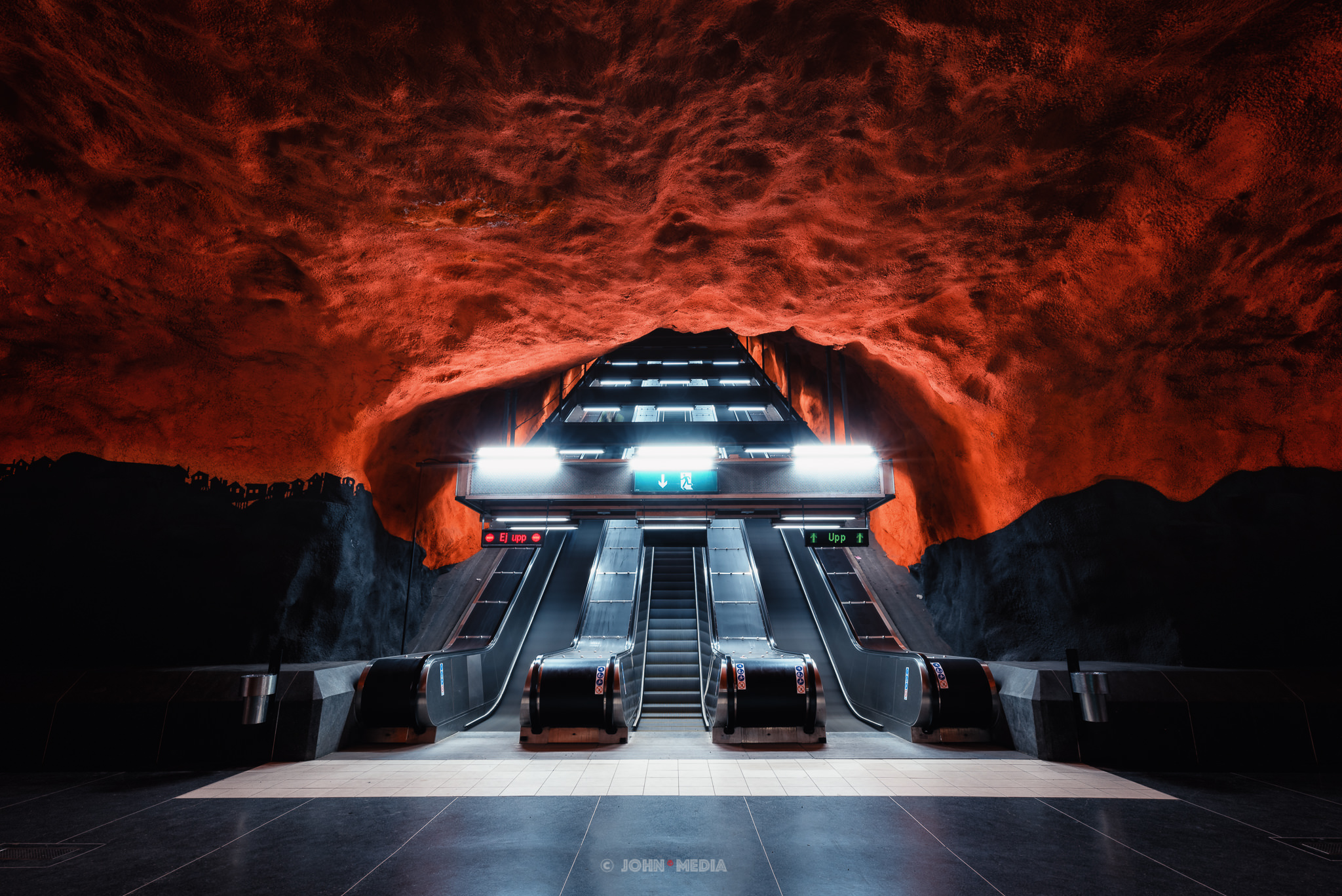 Stockholm subway to hell