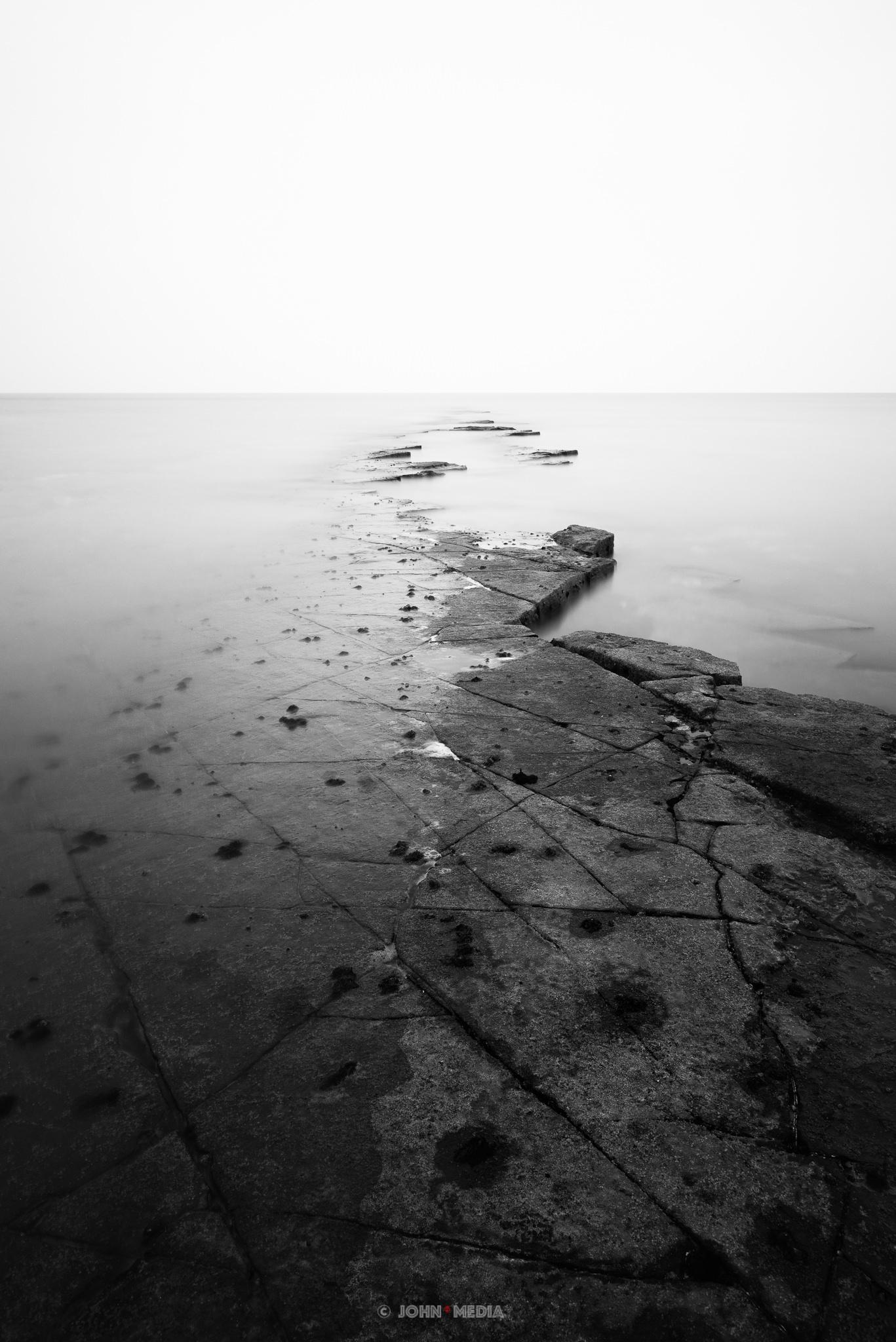 Kimmeridge Bay to the point