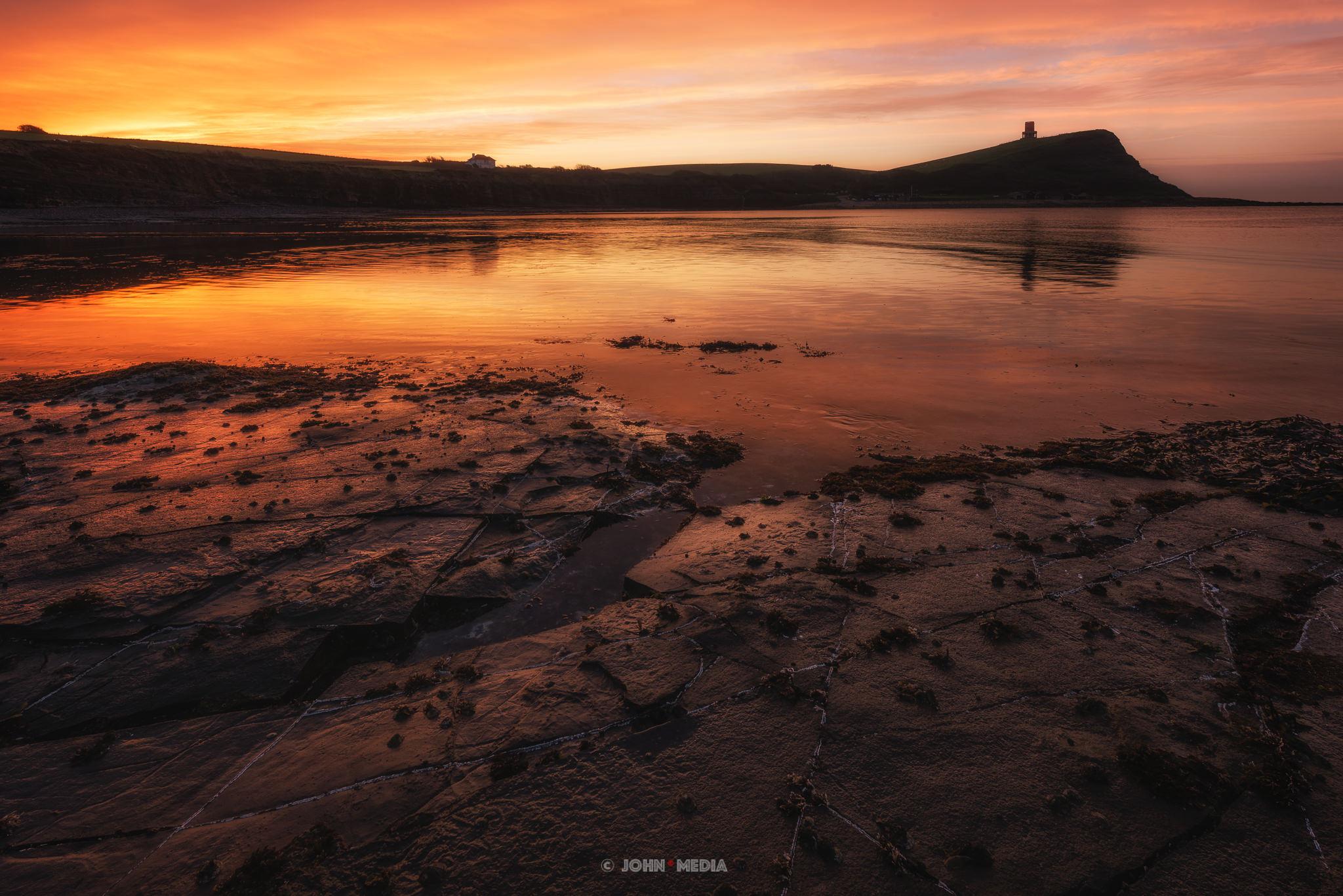 Kimmeridge Bay sunrise